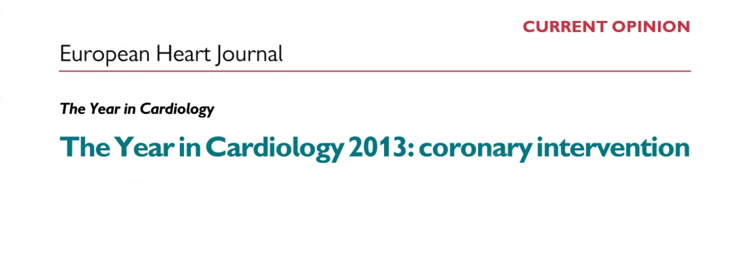 year in cardiology 2013